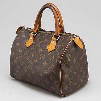 LOUIS VUITTON, a monogram canvas 'Speedy 25' handbag.