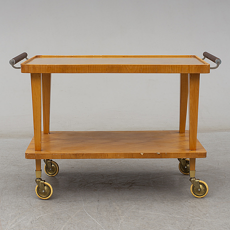 A 1940's serving trolley