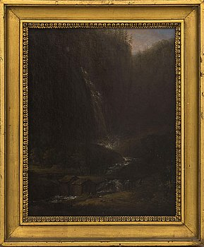 CARL JOHAN FAHLCRANTZ, oil on canvas, signed and dated 1837.