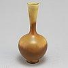 A stoneware vase by berndt friberg, gustavsberg 1963