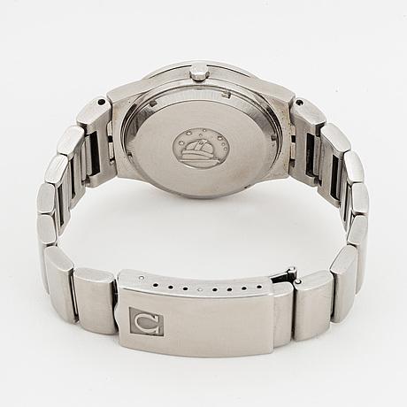 Omega, constellation electronic, armbandsur, 36 mm.