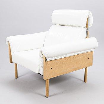 YRJÖ KUKKAPURO, a late 20th century 'Ateljee' armchair for Haimi/Avarte.