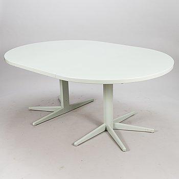 """OLOF OTTELIN, DINING TABLE, """"Rondo"""", manufacturer Keravan Puusepäntehdas, Stockmann, 1980s."""