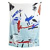 Petra cortright, digital print on silk.