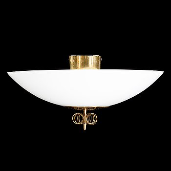 PAAVO TYNELL, A mid 20th century pendant lamp for Idman.