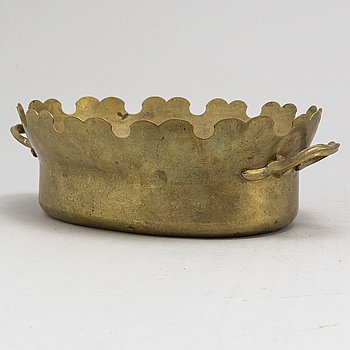 A late 18th or early 19th century brass monthieth.