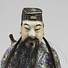 Figurin, porslin. kina, modern tillverkning.