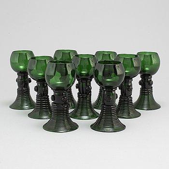 REMMARE, 9 st, glas, 1800-tal.