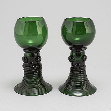 Remmare, 9 st, glas, 1800 tal