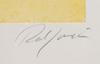 "Robert jacobsen, färglitografi, sign o numr ""37/80""."
