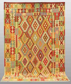 A carpet, kilim, ca 295 x 207 cm.