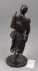 Skulptur, patinerad vitmetall, 1800-talets slut.