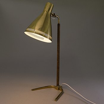 PAAVO TYNELL, A mid-20th century table lamp '9224' for Idman, Finland.