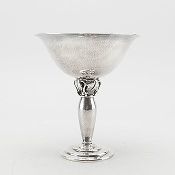 Danish Small Silver Goblet/ Cup by  H. Wilhelm F. Jensen.