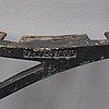 Gavlar till trÄdgÅrdssoffa, ett par, näfveqvarns bruk, 1900 talets första hälft