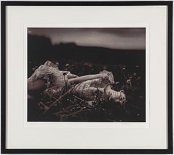 CARL BENGTSSON, photograph signed and numbered 1/10.
