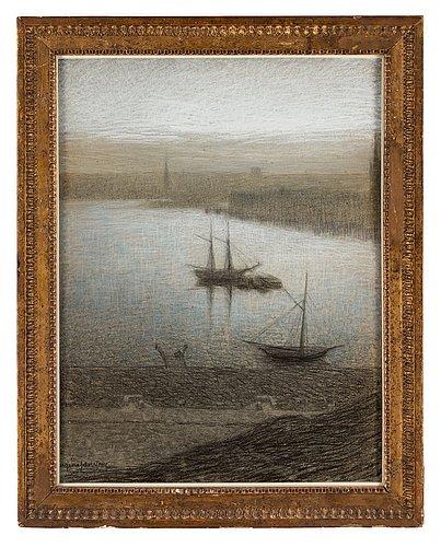"Eugène jansson, ""morgonstämning"" (early morning, stockholm)"