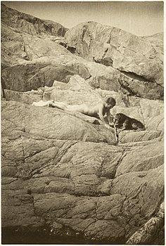 HENRY B. GOODWIN, 2 photo gravures with motif from the Stockholm archipelago.