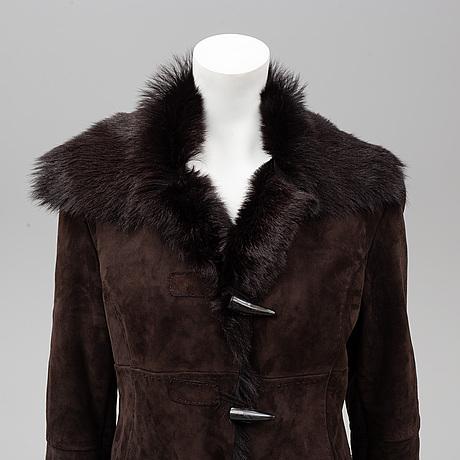 A kid leather jacket, fuschs & schmitt, size xl.