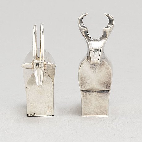 Gunnar cyrÉn, figuriner, 2 st, dansk designs, japan