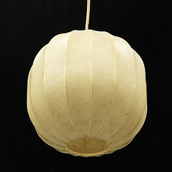 A mid 20th century ceiling lamp, probably Italy.