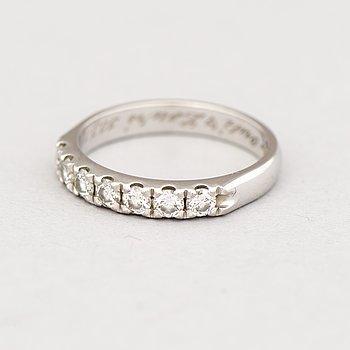 RING, briljantslipade diamanter, 18K vitguld. Tillander 2010-.