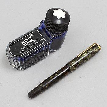 A Montblanc 246 celluloid fountain pen.