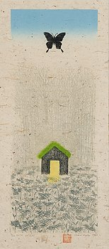 INARI KROHN, colour etching, signed and dated 1994, tpl'a 3/20.