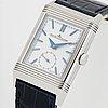 Jaeger-lecoultre, reverso tribute duoface, wristwatch, 25.5 x 31 (42) mm.