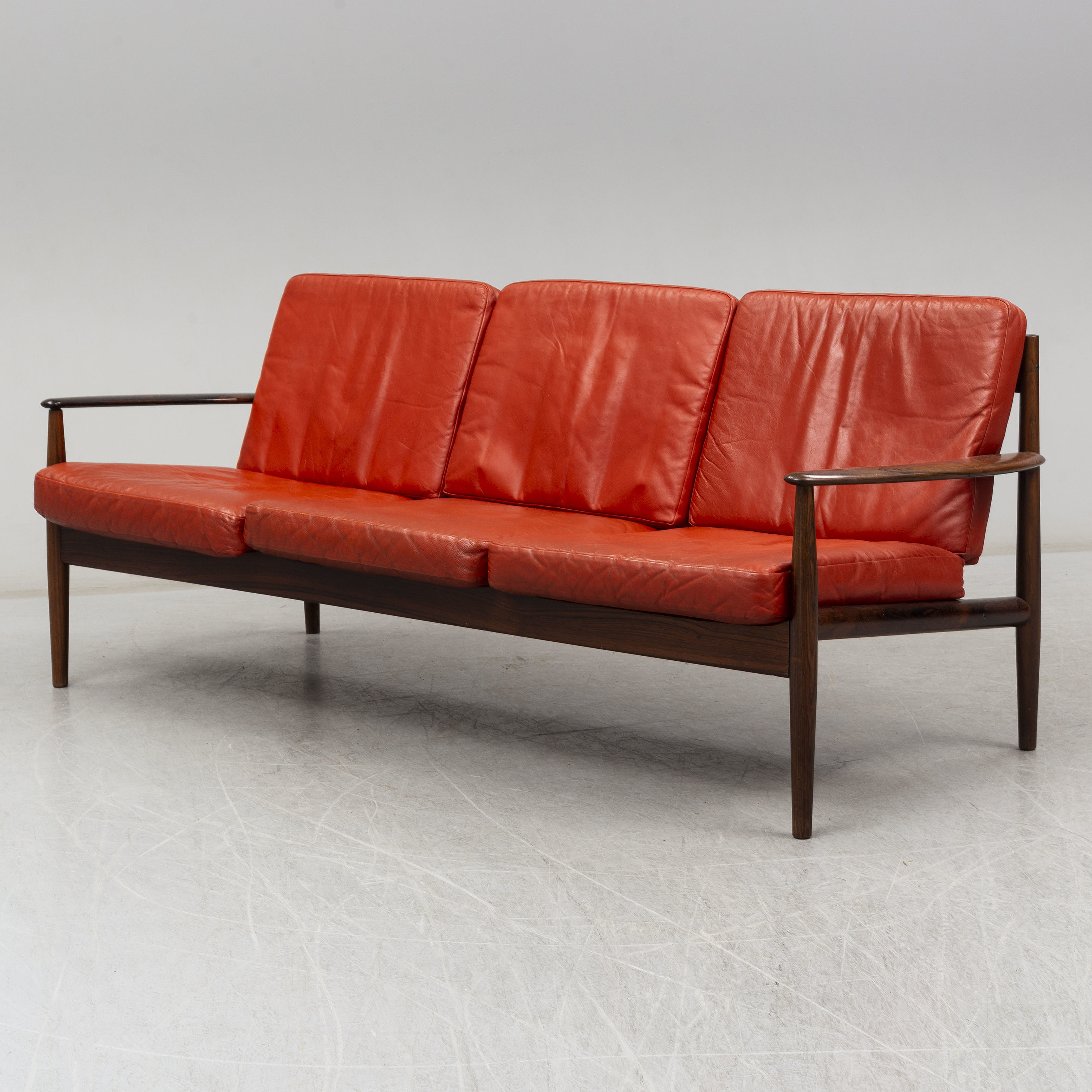 A 1960\'s rosewood sofa by Grete Jalk, France & Son, Denmark ...