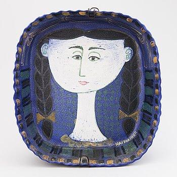 BIRGER KAIPIAINEN, A stoneware decorative bowl signed Kaipiainen.