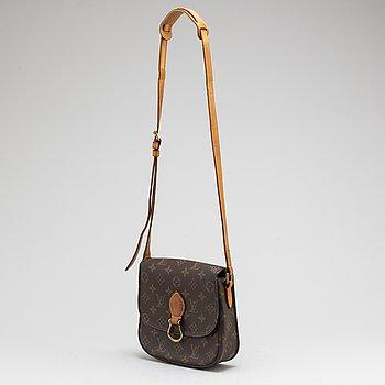 LOUIS VUITTON, a monogram canvas 'Saint Cloud' handbag.