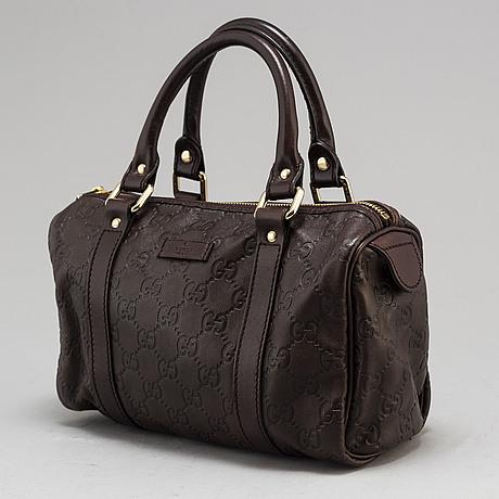 "Gucci, väska, ""guccissima leather joy boston bag""."