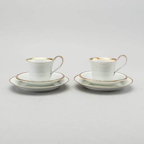 Kaffeservis, 9 + 11 dlr, bing & gröndahl 1900 talets andra hälft