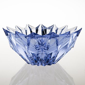 AIMO OKKOLIN, A 'Water lily' vase, signed Aimo Okkolin Riihimäen Lasi Oy.