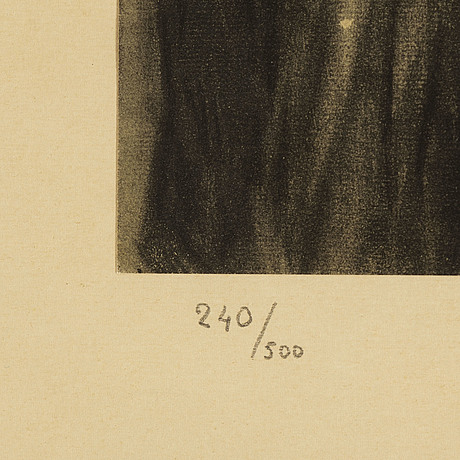 Pablo picasso, after, pochoir, numbered 240/500.
