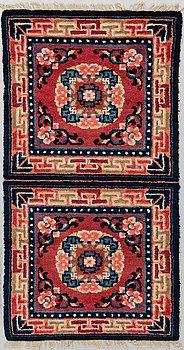 MEDITATIONSMATTA. Semiantik Kina. Ca 117 x 60 cm.