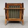 'cigarren' teak and oak easy chair, denmark