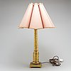 A gilt bronze empire table light, early 19th century