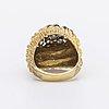 Ring 18k guld med briljanter ca 1,6 ct totalt