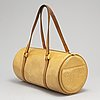Louis vuitton, a 'bedford' yellow vernis bag
