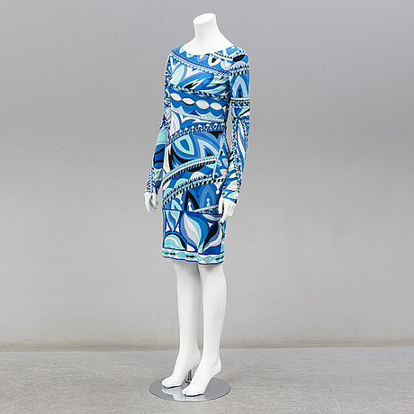Emilio pucci, klänning, storlek italiensk 42