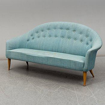 "KERSTIN HÖRLIN-HOLMQUIST, soffa ""Paradiset"", ur NK:s Triva-serie, Nordiska kompaniet, 1960-tal."