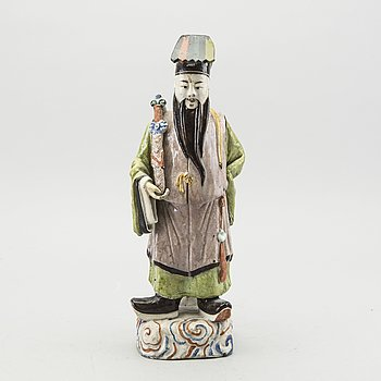 FIGURIN Kina porslin 1800-tal.