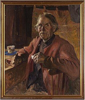 SAM UHRDIN, olja på duk, signerad och daterad 1926.
