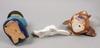 Figuriner, 6 st, keramik. bl a lisa larson och arabia.