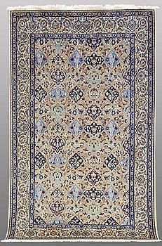 A carpet, Nain part silk, s.k 9LAA, ca 255 x 155 cm.