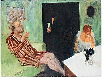 """457. Peter Dahl, """"The Green Room"""" (Gröna Rummet)."""