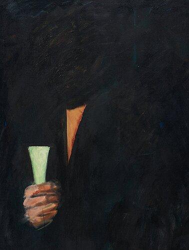 """Peter dahl, """"the green room"""" (gröna rummet)."""