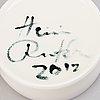 Heini riitahuhta, a porcelain 'bird box' signed heini riitahuhta 2012.